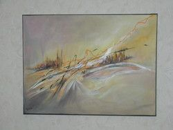B schutten artiste peintre for Peinture tableau ardoise