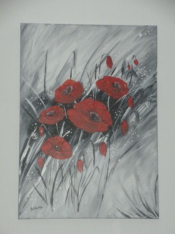 B schutten artiste peintre page 2 - Tableau gris et rose ...