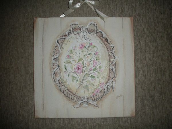 B schutten artiste peintre page 7 for Tableau style shabby chic