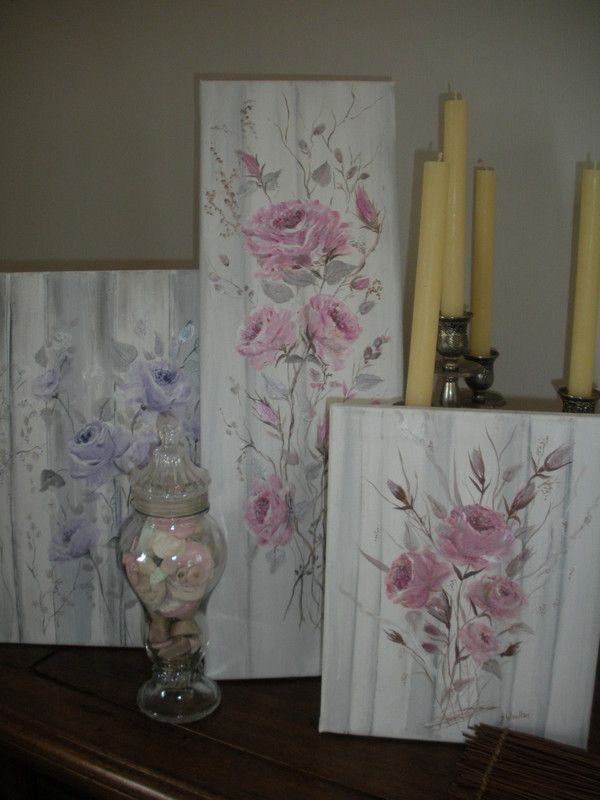 Rayures couture en gris perle shabby chic centerblog for Peinture shabby chic