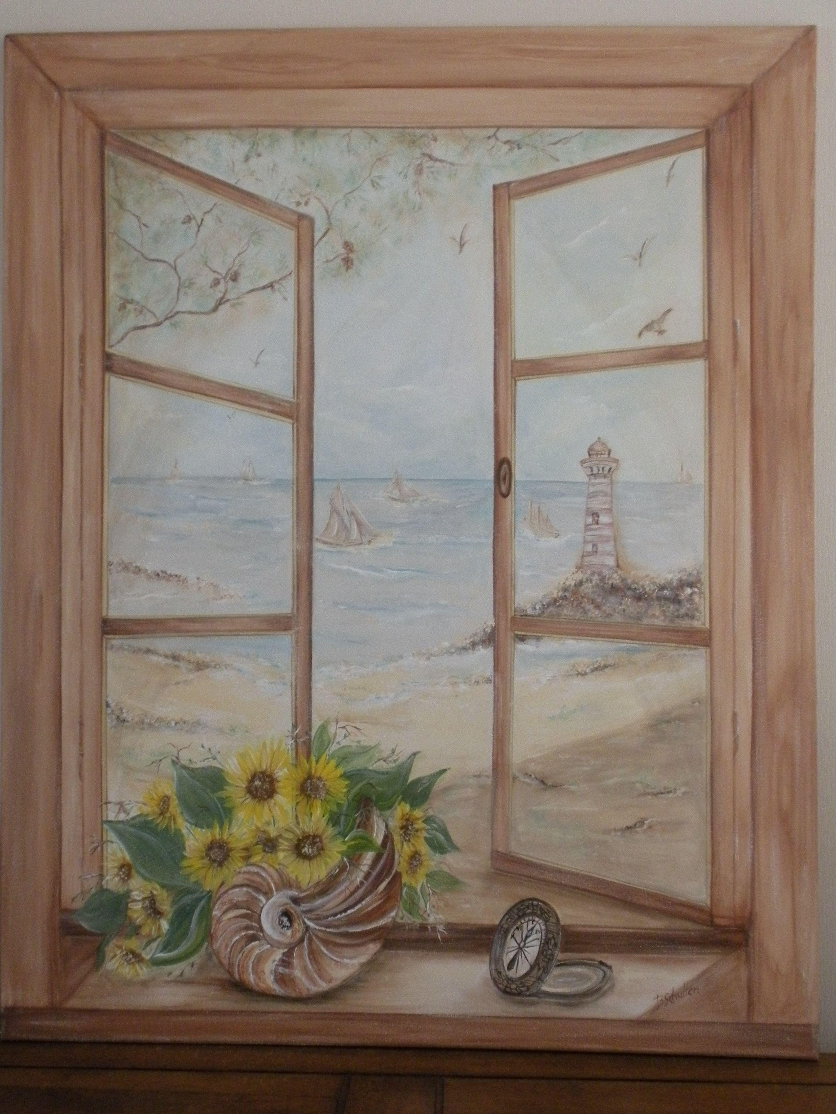 B schutten artiste peintre page 9 for Fenetre 60x80